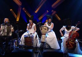 Ukrainian folk band DakhaBrakha performed at main British music TV show